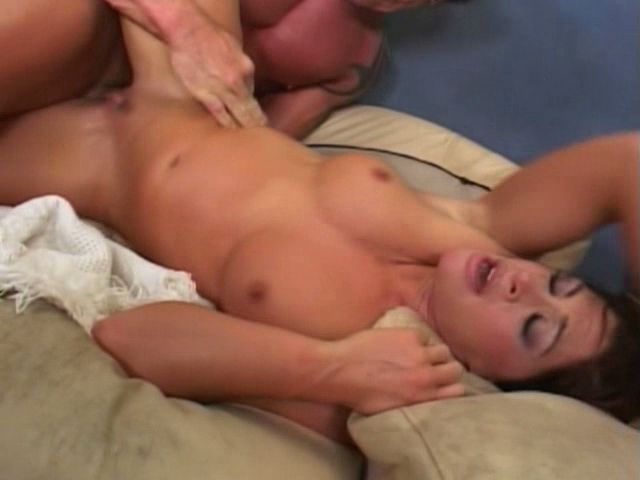 Round breasted brunette milf Aria getting slit hammered from behind
