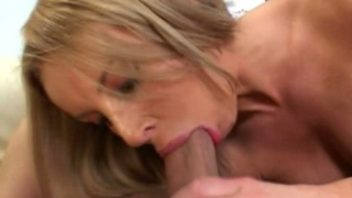 Sandy Blonde Milf Laura Monroe Slurping A Large Penis With Lust