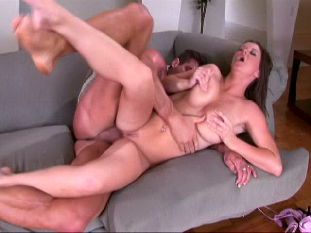 Sara Stone gets fucked in her trimmed pink pussy