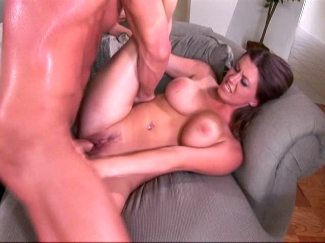 Sara Stone rides this rock hard dick and makes it cum