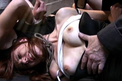 Sasha and Delilah bondage clip BDSM Tryouts XXX Porn Tube Video Image