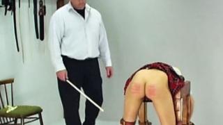 Schoolgirl Caning