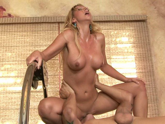 Seductive Blonde Mature Whore Briana Jumping A Monster Phallus Hard Lovely Matures XXX Porn Tube Video Image
