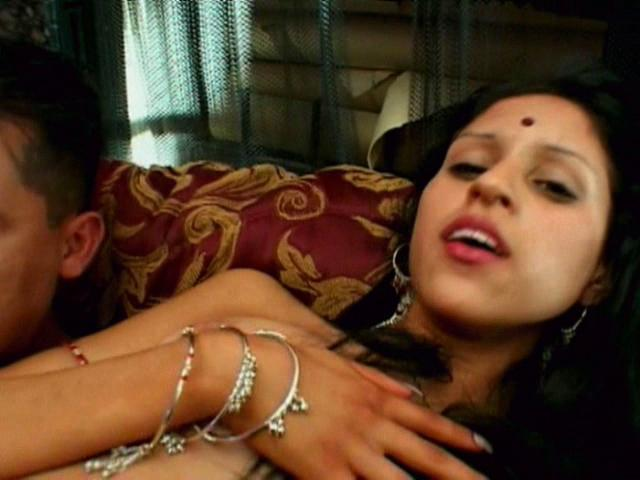 Seductive indian goddess Kajal gets slammed from behind