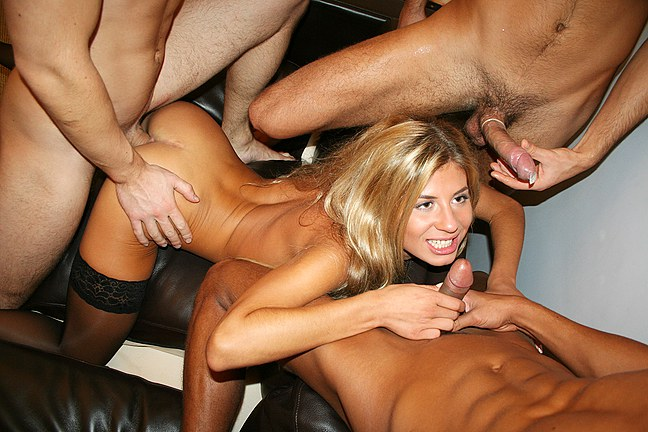 Seductive striptease and group fucking College Fuck Parties XXX Porn Tube Video Image