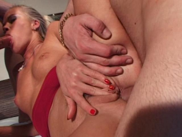 Sensational Blondie Chick Gets Anally Smashed In A Threesome Anal Tryouts XXX Porn Tube Video Image