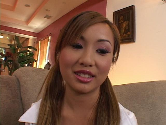 Sensuous asian cutie Tia Tanaka gets sexy breasts licked and pussy fingered Erotic Asians XXX Porn Tube Video Image