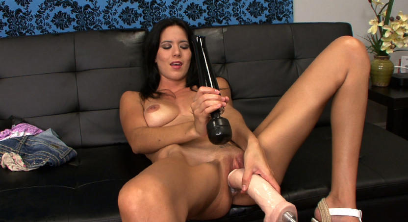 Sex Slave Sofia Takes on a Fucking Machine