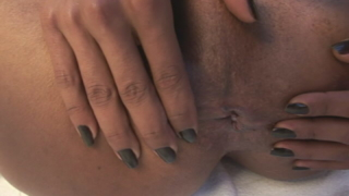 Sexual Shemale Kawana Rubbing Her Tight Butthole Hard
