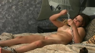 Sexy Angelina flogged