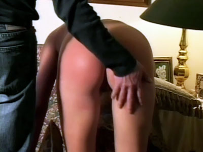 Sexy Ass Wife Spanked Red Hot
