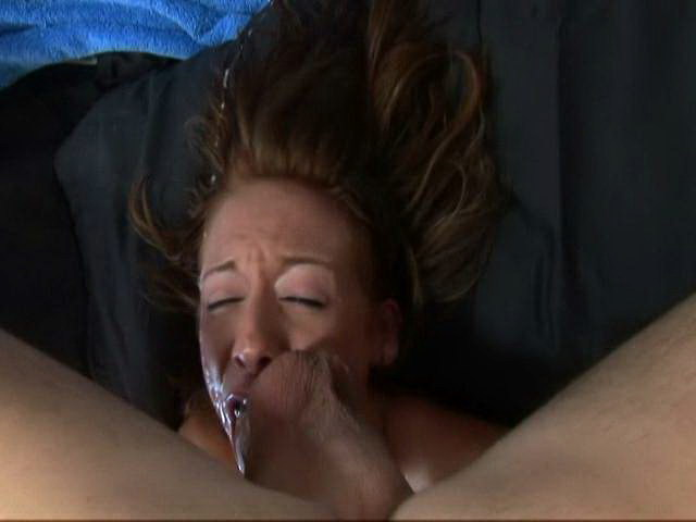 Sierra Sinn takes this white cock in her slutty mouth