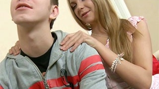 Sinful blonde got a fuck