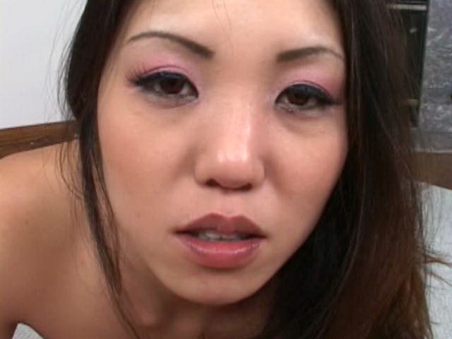 Sinfully Asian bitch with large knockers suck and jerk off a huge dick in POV style Erotic Asians XXX Porn Tube Video Image