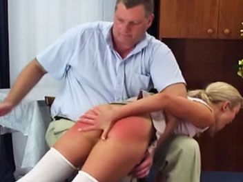Slacker Spanking Elite Spanking XXX Porn Tube Video Image