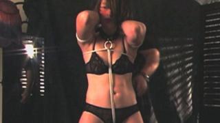 Slutty Pearl in bondage