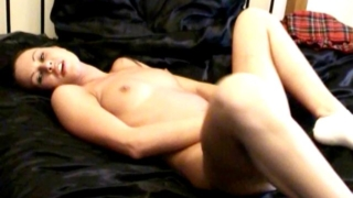 Small Breasted Brunette Amateur British Teen Babe Lolly Fingering Her Wet Pussy