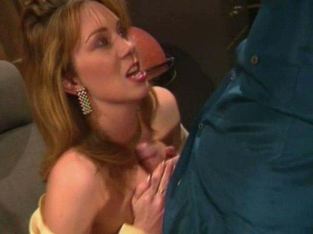 Stimulating bitch Rayveness gets massive breasts banged and gives blowjob