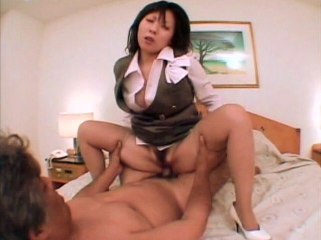 Stimulating Japanese chick in pantyhose Shizuna Sakuragi gets pussy fucked doggy