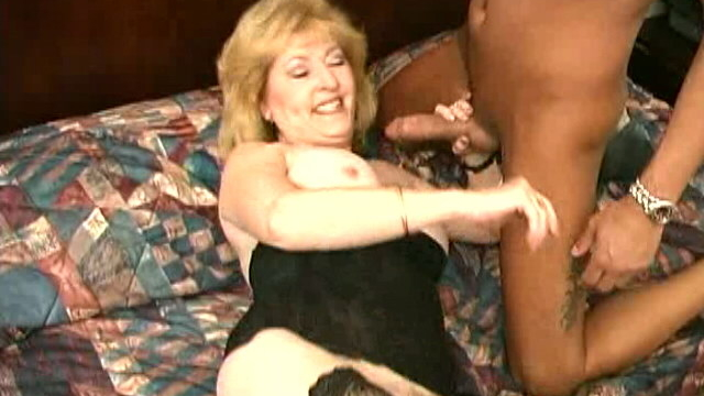 Stockinged-granny-kitty-fox-spreading-and-fingering-her-hairy-pussy_01