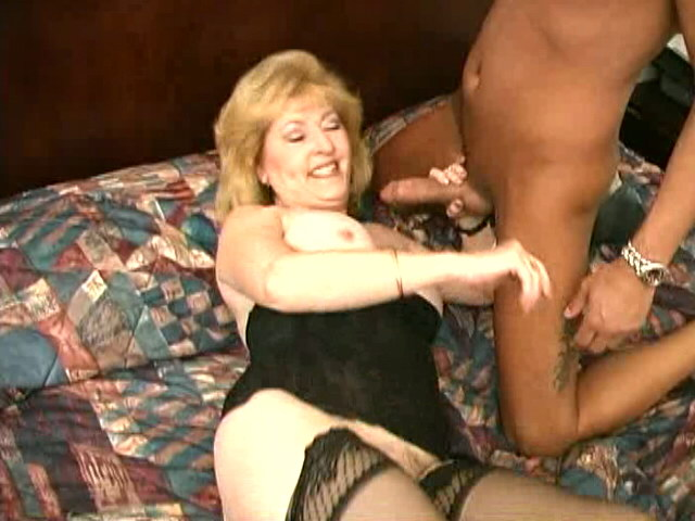Stockinged granny Kitty Fox spreading and fingering her hairy pussy Is That Grandma XXX Porn Tube Video Image