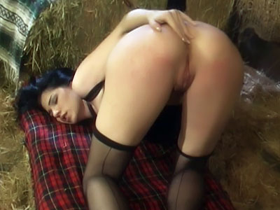Stockinged Slave Submits Her Ass For Spanking Sinful Spanking XXX Porn Tube Video Image