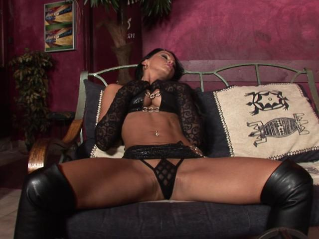 Sublime brunette goddess teasing us with her perfect body on the floor