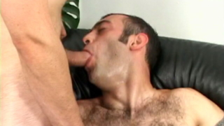 Super sexy gay Jean-phillipe getting anally fucked by an impossible penis in a threesome