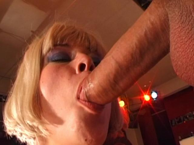 Superb Blond Czech Honey Slurping An Immense Schlong Czech Sex Club XXX Porn Tube Video Image