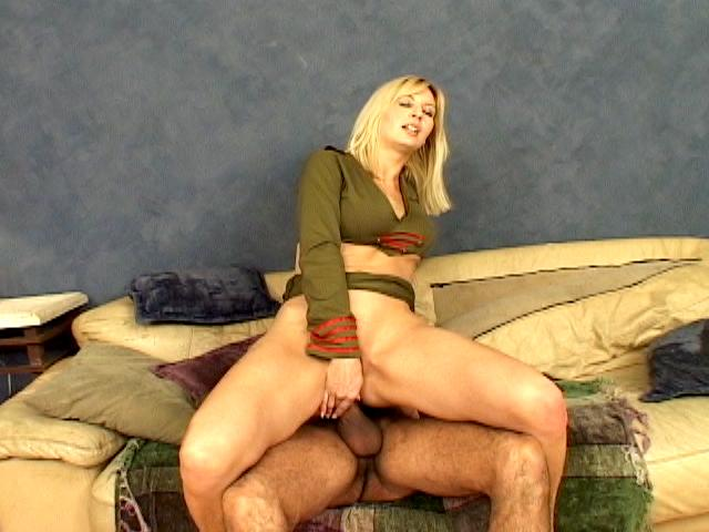 Superb blonde army hooker Celestia Star masturbating her sexy asshole Anal Army XXX Porn Tube Video Image