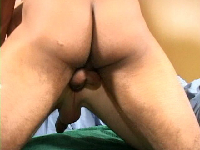 Superb gay Felix sucking two gigantic schlongs on his knees Impossible Gay Cocks XXX Porn Tube Video Image