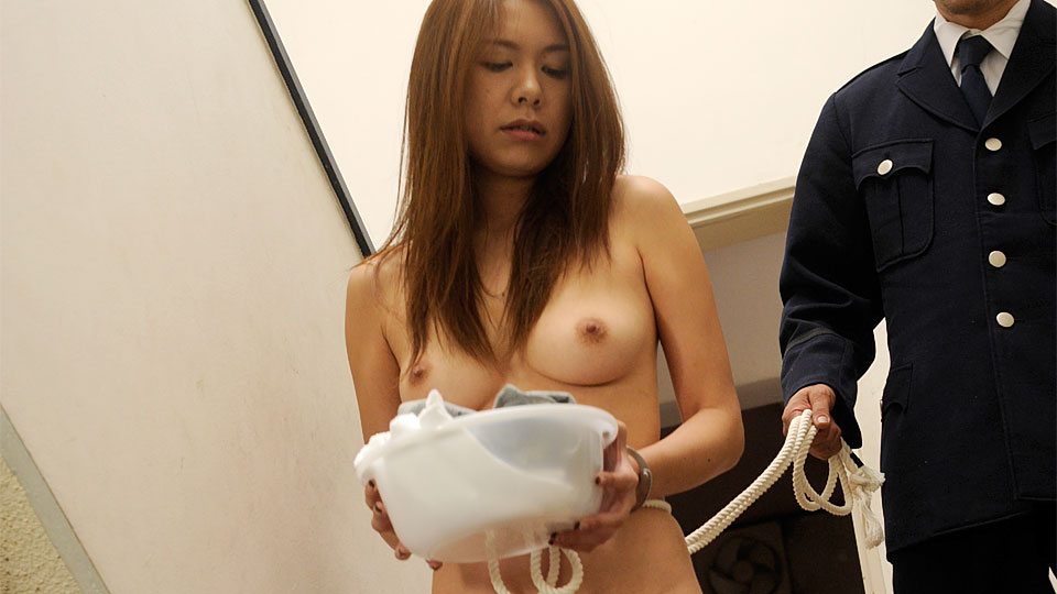 Sweet prisoner slut fucked by a horny guard JapanHDV XXX Porn Tube Video Image