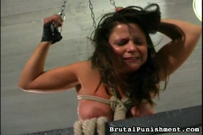 Swinging from the Ceiling Brutal Punishment XXX Porn Tube Video Image
