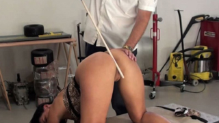 Tardy Katty And Her Caning