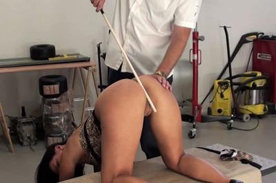 Tardy Katty And Her Caning Elite Spanking XXX Porn Tube Video Image