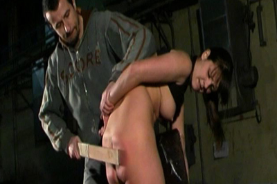 Teaching That Ass a Lesson Brutal Punishment XXX Porn Tube Video Image