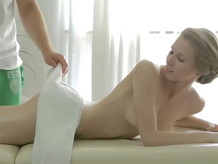 Teen Massaged And Then Banged Tricky Masseur XXX Porn Tube Video Image