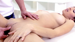 Teen Virgin Nika Finally Decides To Let Her Masseuse Fuck Her Untouched Pussy.