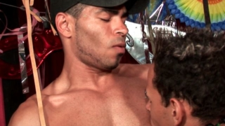Tempting Gay Tony Getting Pounded By Kaike Montani And Rick Solares In A Threesome