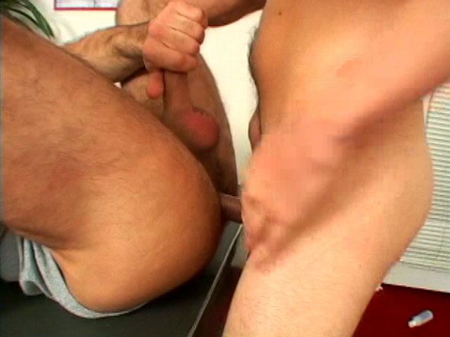 Tempting twink Daniel getting hairy butt fucked by a large dick in the office