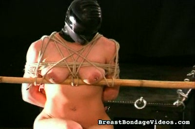 The Leather Mask Breast Bondage Videos XXX Porn Tube Video Image