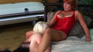 Titty twister twosome