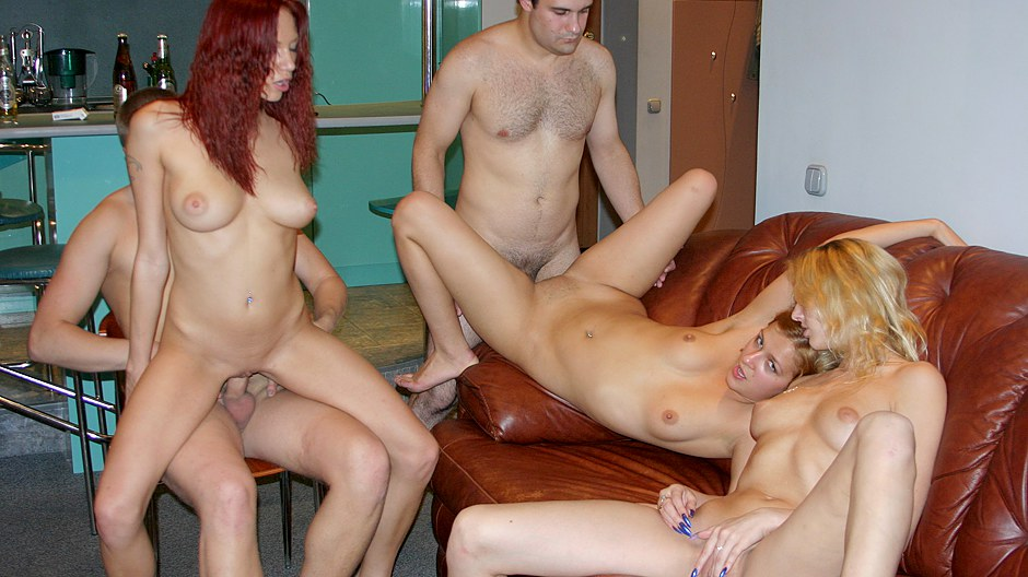 Truly wild party porn with a redhead hottie College Fuck Parties XXX Porn Tube Video Image