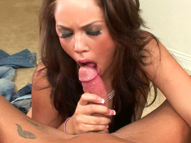 Ultra sexy brunette mature goddess Kristina slurping a thick schlong in POV style Lovely Matures XXX Porn Tube Video Image