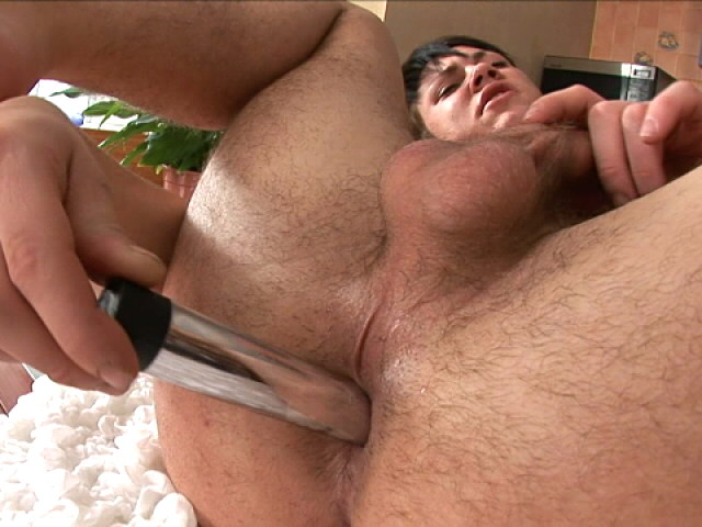 Venereal brunette euro twink dildos arse and rubs his big penis Euro Twinks Club XXX Porn Tube Video Image