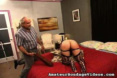 Voluptuous young amateur takes punishment and plays with herself. Amateur Bondage Videos XXX Porn Tube Video Image
