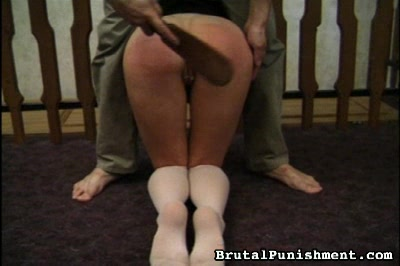White Panties on a Red Ass Brutal Punishment XXX Porn Tube Video Image