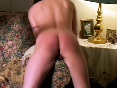 Wife Steff's Nicely Spanked Ass