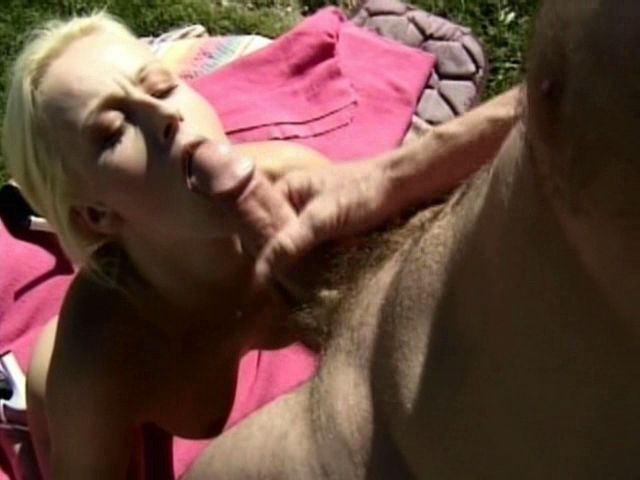 Wild blonde amateur nymphet Sharon Wild gets mouth smashed by a thick penis outdoors Free Amateur Passport XXX Porn Tube Video Image