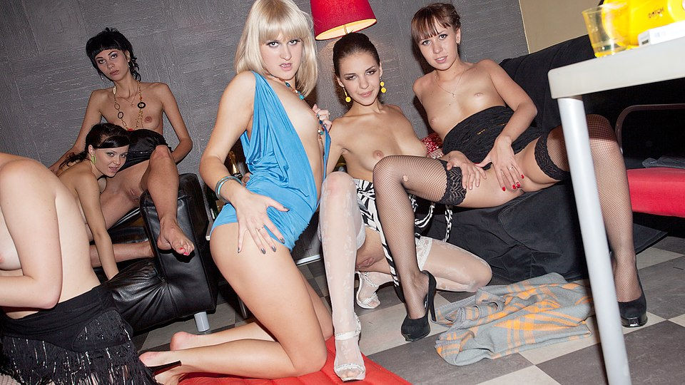 Wild group fuck with hottest chicks College Fuck Parties XXX Porn Tube Video Image